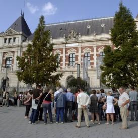 Visite guidée de la ville de Roubaix. Photographie : A. Loubry