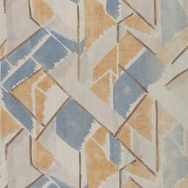 Vanessa BELL (Londres, 1879-Charleston, 1961) pour les ATELIERS Omega Tissu Maud, 1913 Toile de lin imprimée H. 93,5 ; L. 84,2 cm Don de la Société des amis du musée en 2008 Photo : Alain Leprince