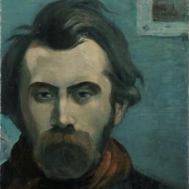 Émile Bernard , Autoportrait, 1897 Huile sur toile.  Don de Madame Harscoët-Maire en 2014. Inv.2014-6-10 Photo : Alain Leprince