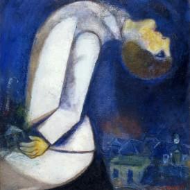 Marc Chagall L'Homme à la tête renversée