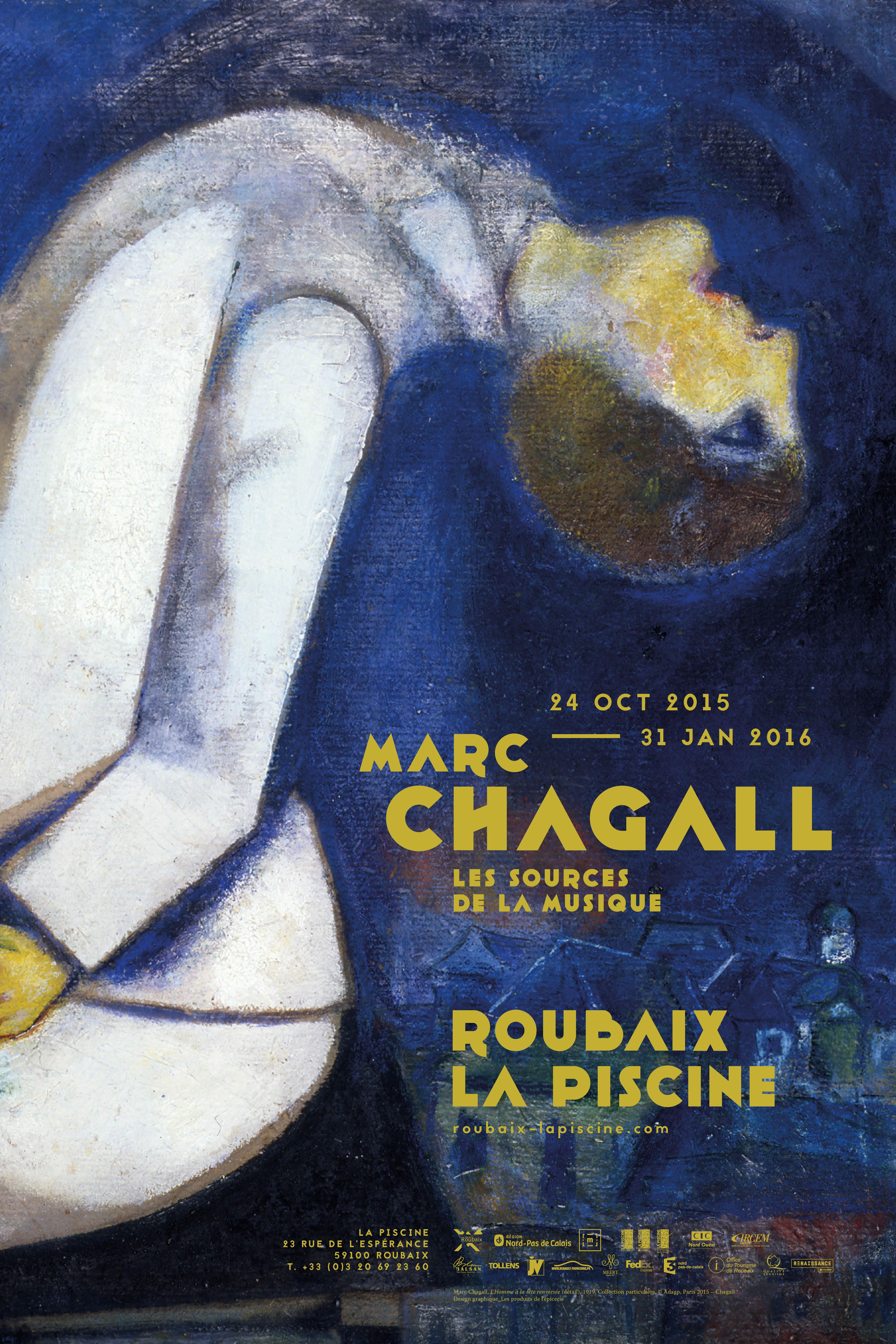 Marc chagall les sources de la musique roubaix la piscine for Musique piscine