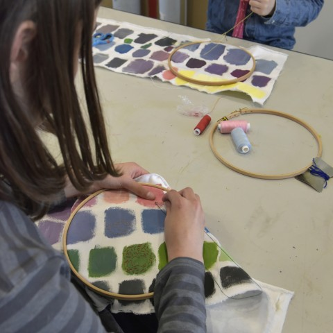Atelier textile musée la piscine roubaix