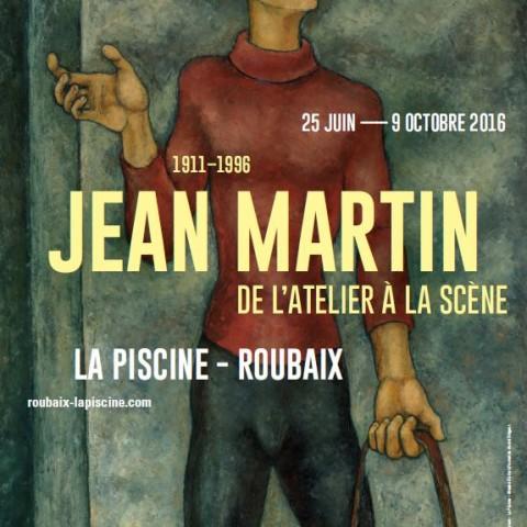 Affiche Expo Jean Martin