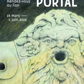 Colette PORTAL (née en 1936) Rendez-vous au lion : Neptune dit «Le Lion», 2000 Roubaix - La Piscine