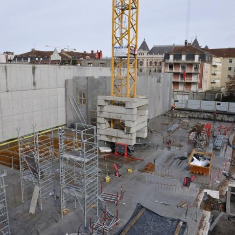 03.03.2017 Nouvelle aile Rue de l'Espérance. Installation des murs_DSC4329