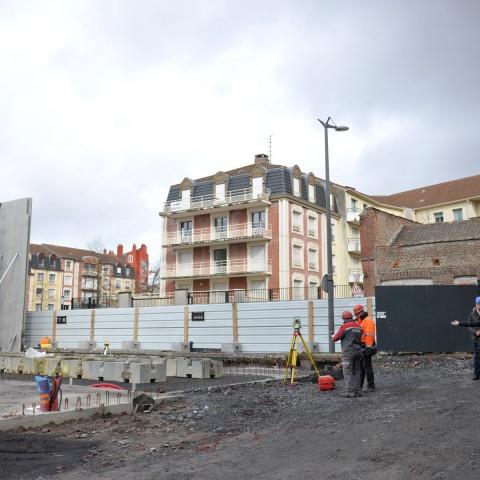 03.03.2017 Nouvelle aile Rue de l'Espérance. Installation des murs_DSC4357
