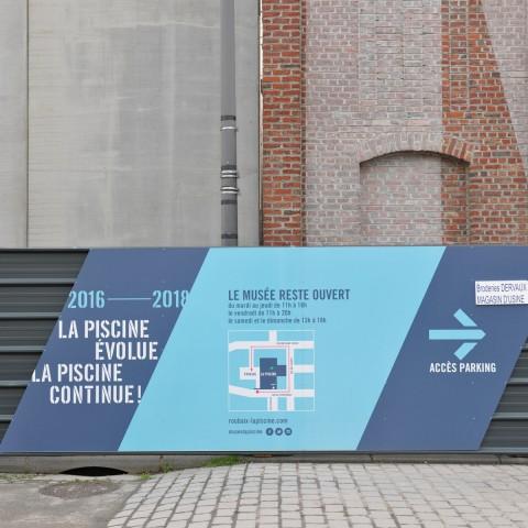 03.03.2017 Nouvelle aile Rue de l'Espérance. Palissade de chantier_DSC4422