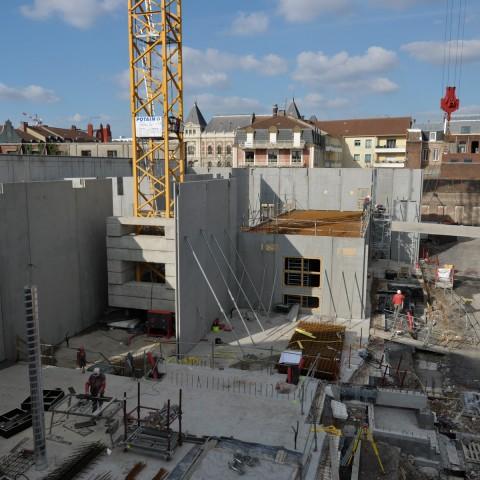 15.03.2017 Nouvelle aile Rue de l'Espérance. Installation des murs_DSC4528
