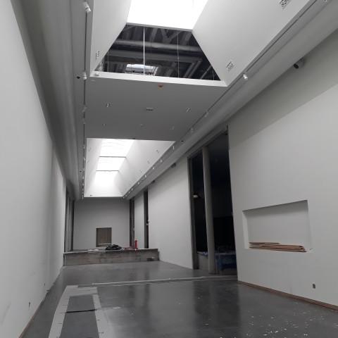 24.05.18 Nouvelle aile Rue de l'Espérance. La galerie de sculpture moderne