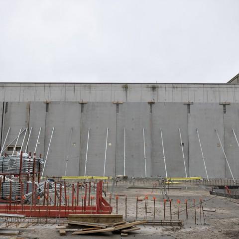 22.02.2017 Nouvelle aile Rue de l'Espérance. Installation des premiers murs_DSC4303