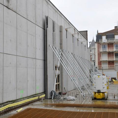 22.02.2017 Nouvelle aile Rue de l'Espérance. Installation des premiers murs_DSC4317