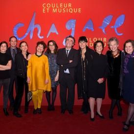 Chagall - Dîner privé