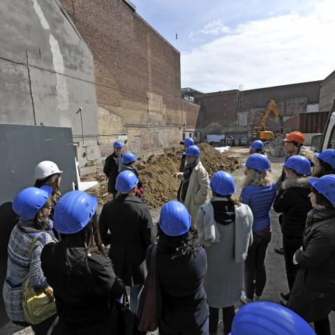 24.04.2017 Zone travaux Rue des champs. Fondation de la galerie consacrée aux artistes du Groupe de Roubaix_DSC5144