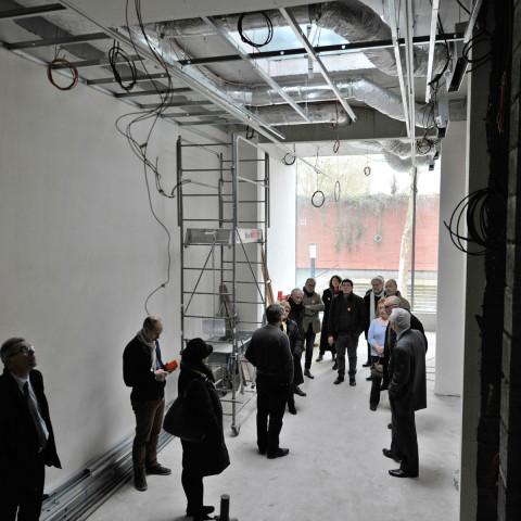 31.03.2018 Visite chantier week-end de fermeture