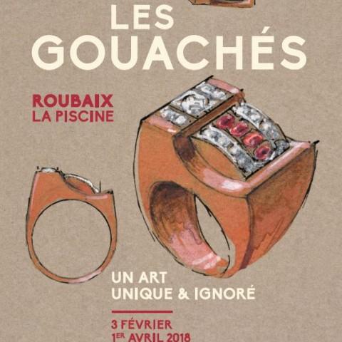 Affiche Gouachés