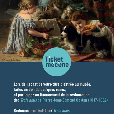 Ticket Mécène Castan 2 La Piscine Roubaix