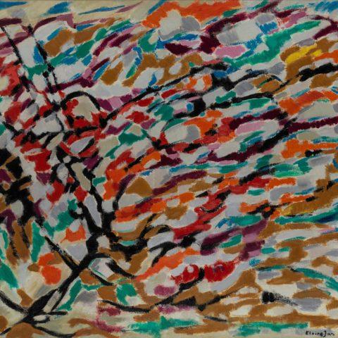 Elvire Jan, Composition, 1958. Collection particulière.